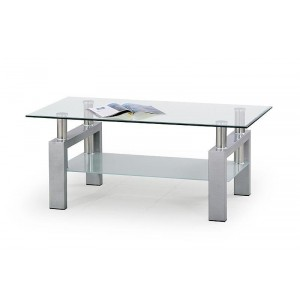 COFFEE TABLE DIANA SILVER