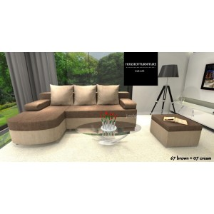 SOFA BED CORNER HELIOS