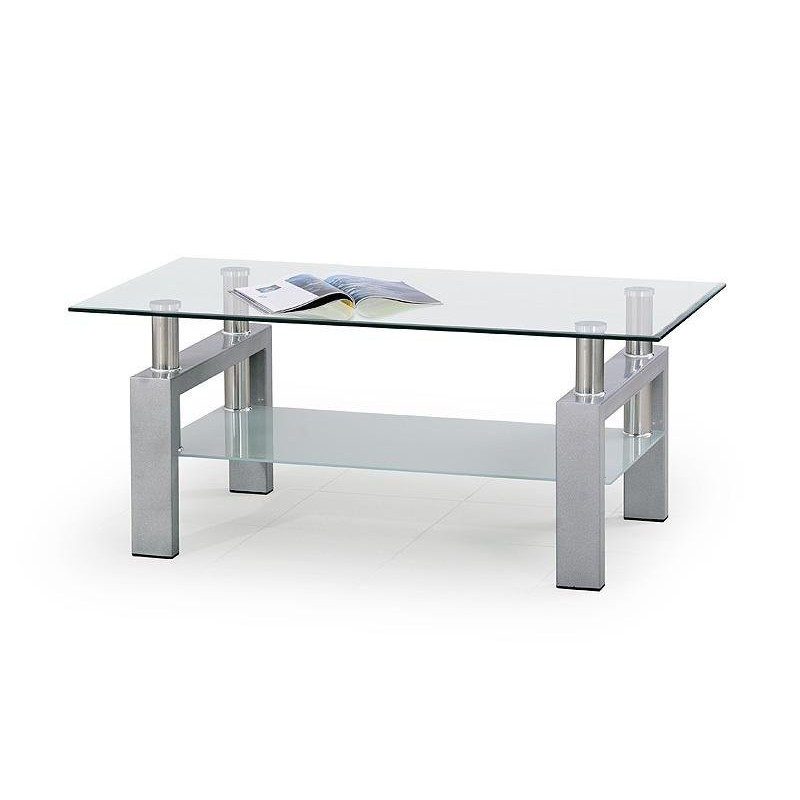 TABLE BASSE DIANA SILVER