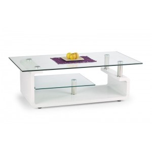 TABLE BASSE CYNTHIA BLANC