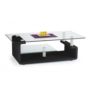 TABLE BASSE CYNTHIA NOIR