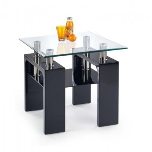 TABLE BASSE CALISTA SQUARE NOIR